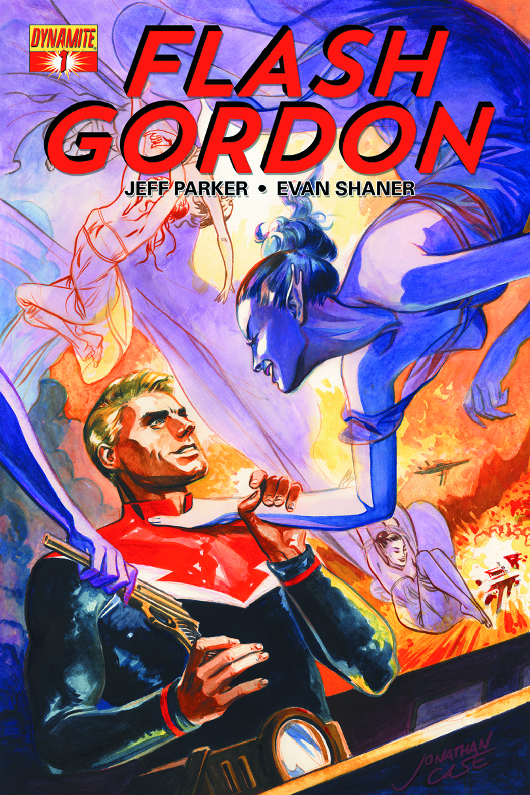 FLASH GORDON #1 CVR B CASE