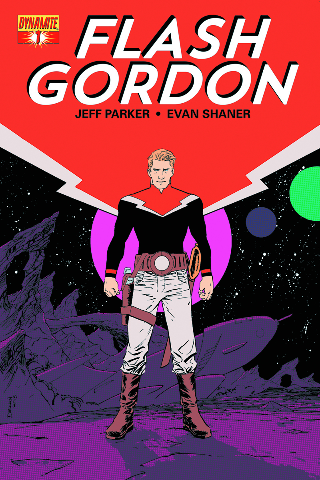 FLASH GORDON #1 CVR C SHALVEY