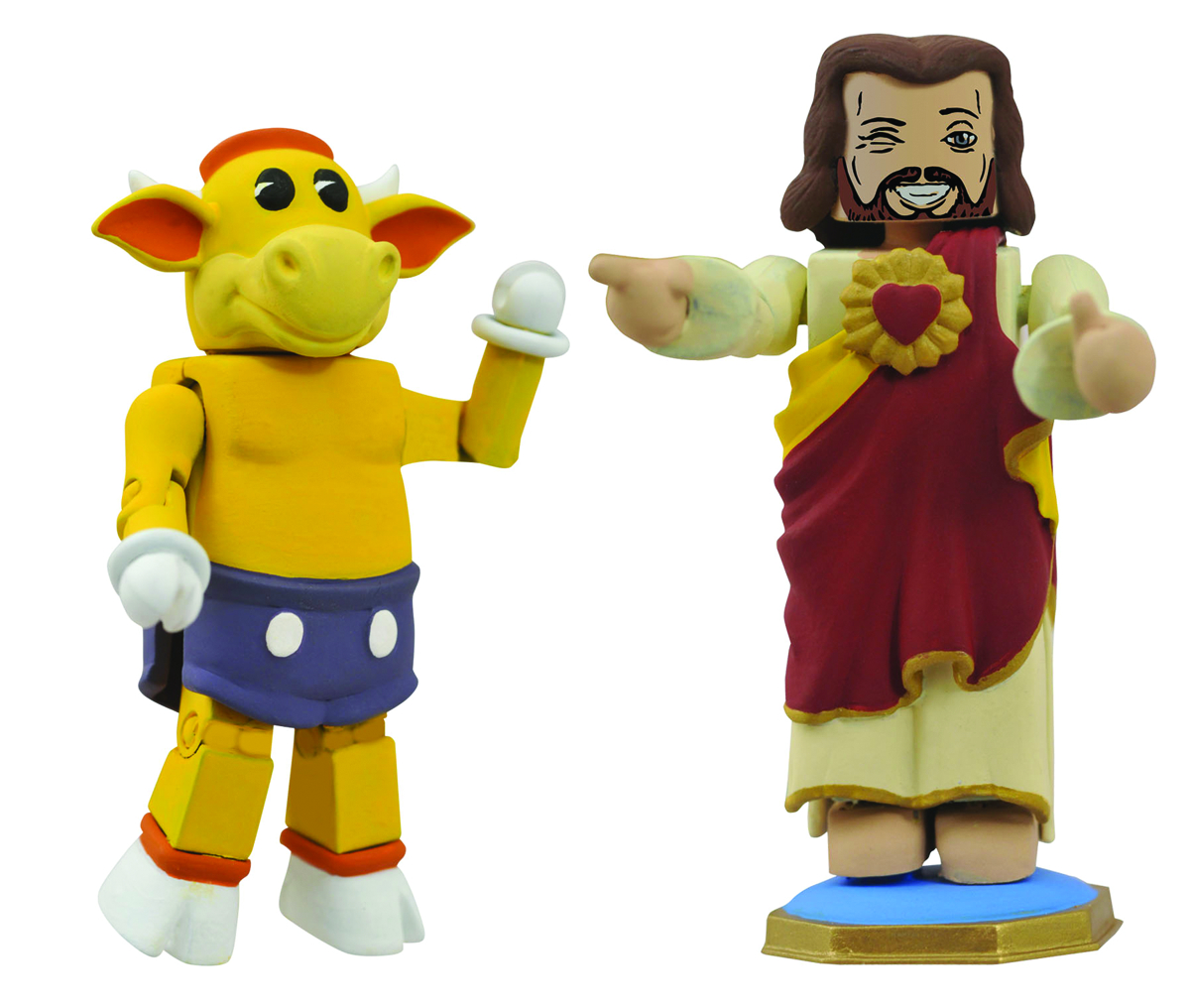 VIEW ASKEW MINIMATES MOOBY & BUDDY CHRIST 2-PK