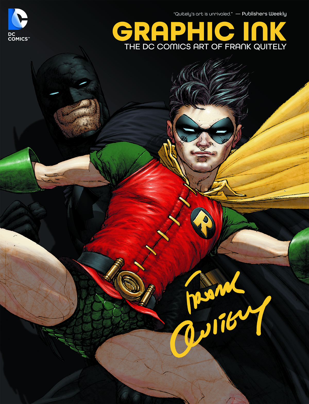GRAPHIC INK THE DC COMICS ART OF FRANK QUITELY HC