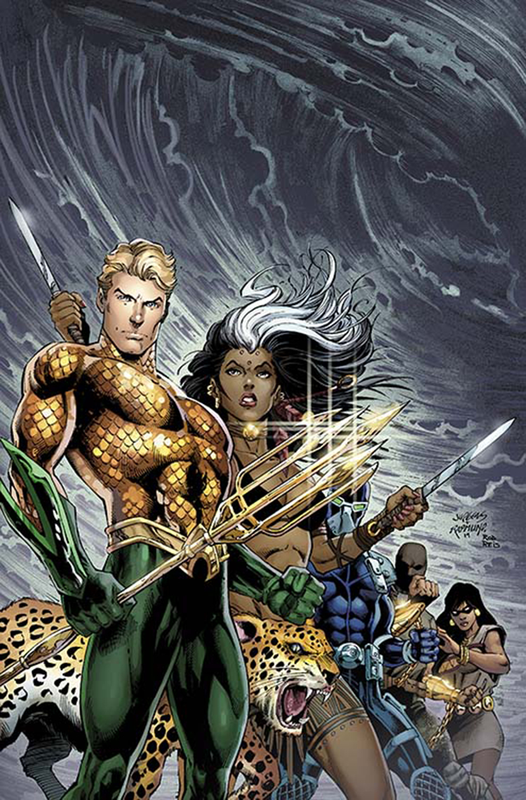 AQUAMAN AND THE OTHERS #1 VAR ED