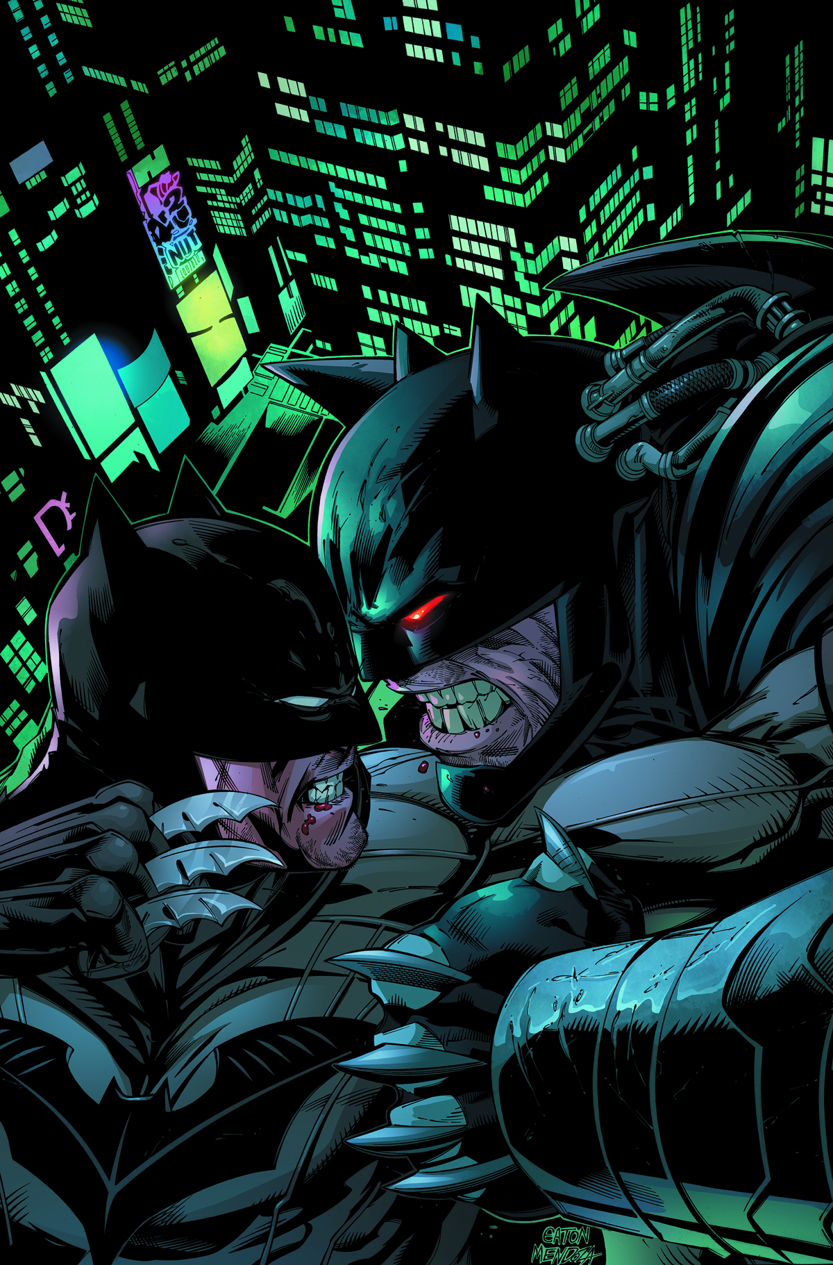 FOREVER EVIL AFTERMATH BATMAN VS BANE #1