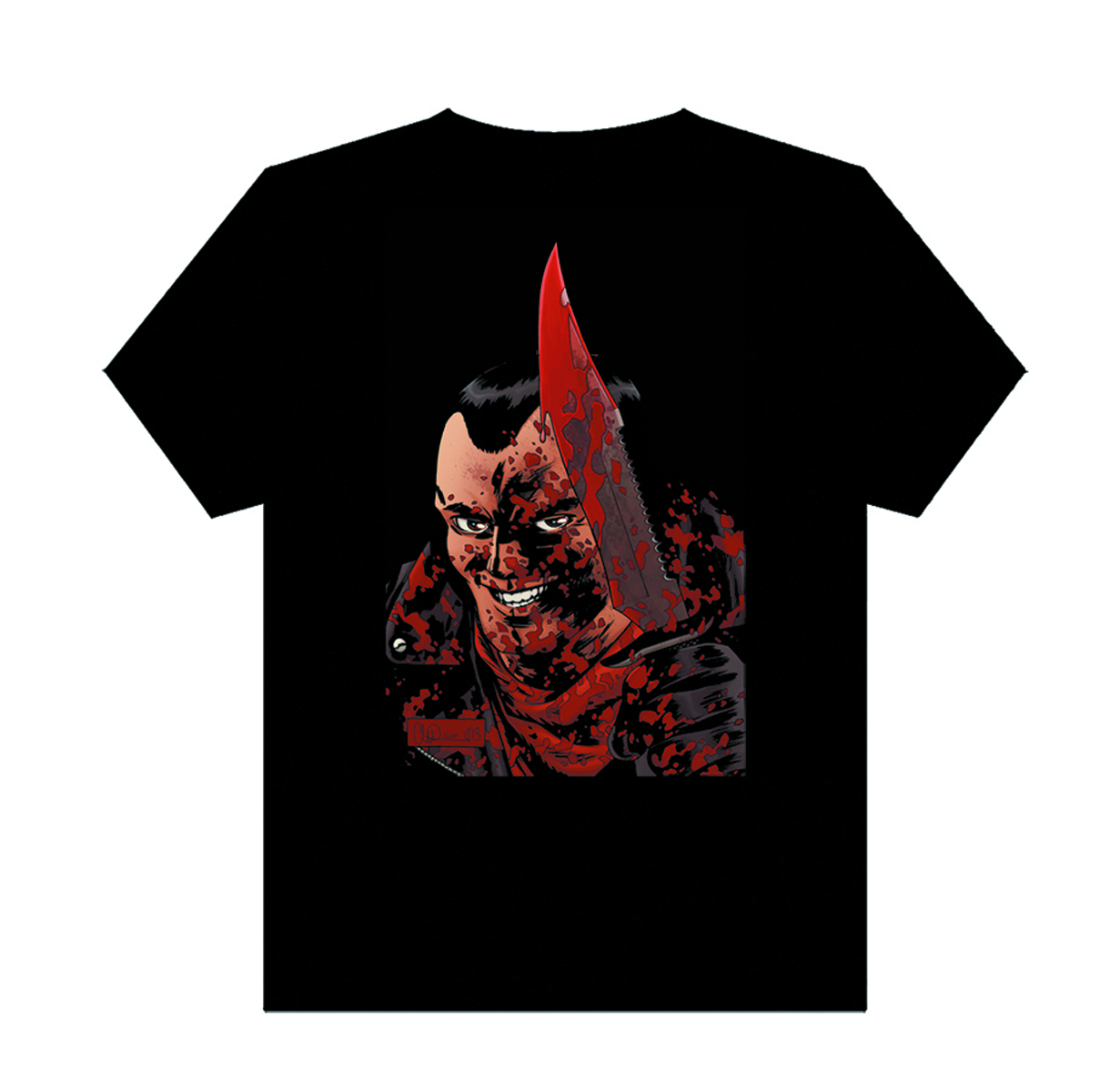 WALKING DEAD NEGAN T/S MED MENS