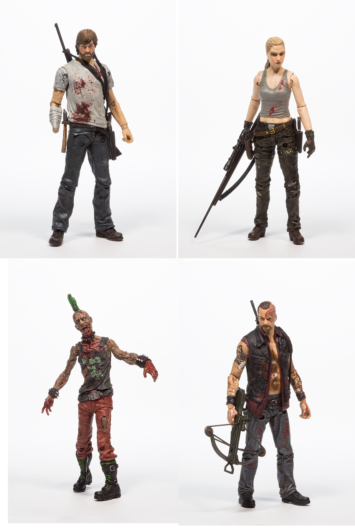WALKING DEAD COMIC SERIES 3 AF ASST