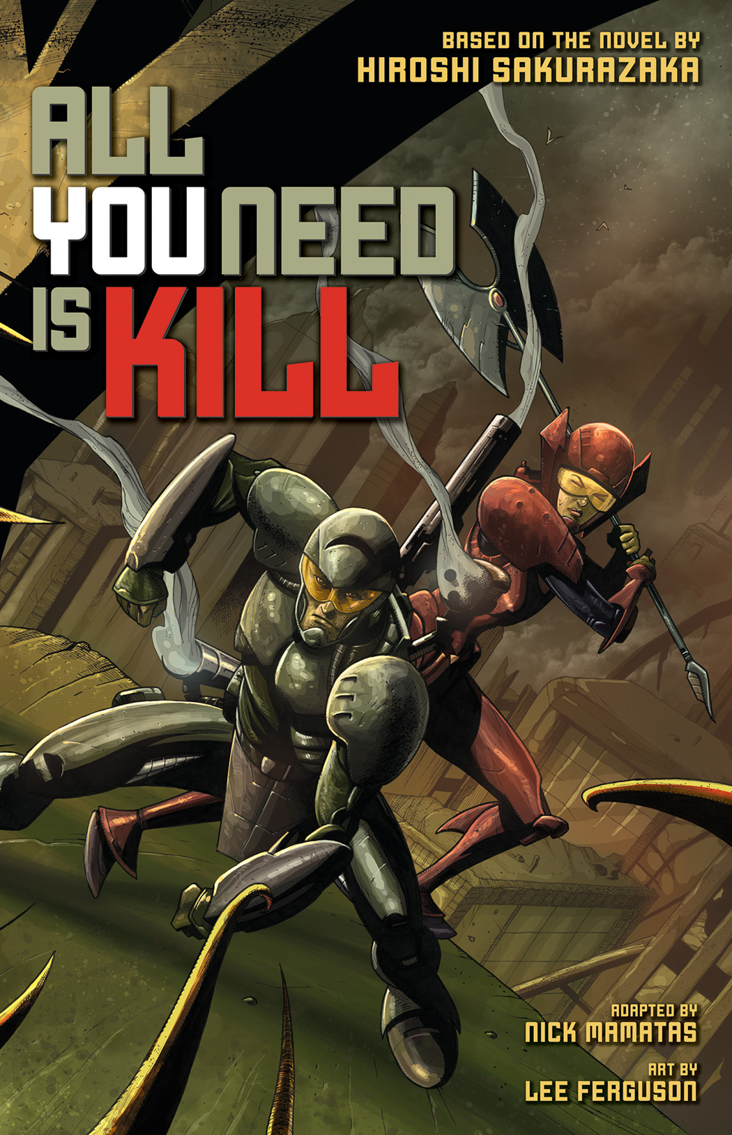 ALL YOU NEED IS KILL GN VOL 01