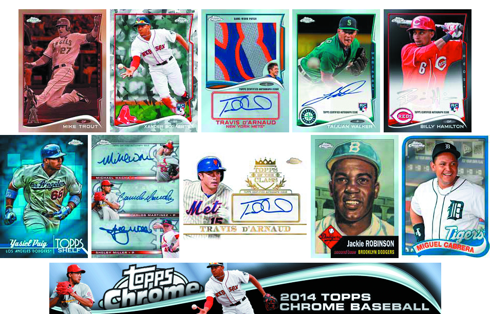 TOPPS 2014 CHROME BASEBALL T/C BOX