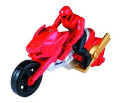 POWER RANGERS SUPER MEGAFORCE CYCLE W/FIG ASST