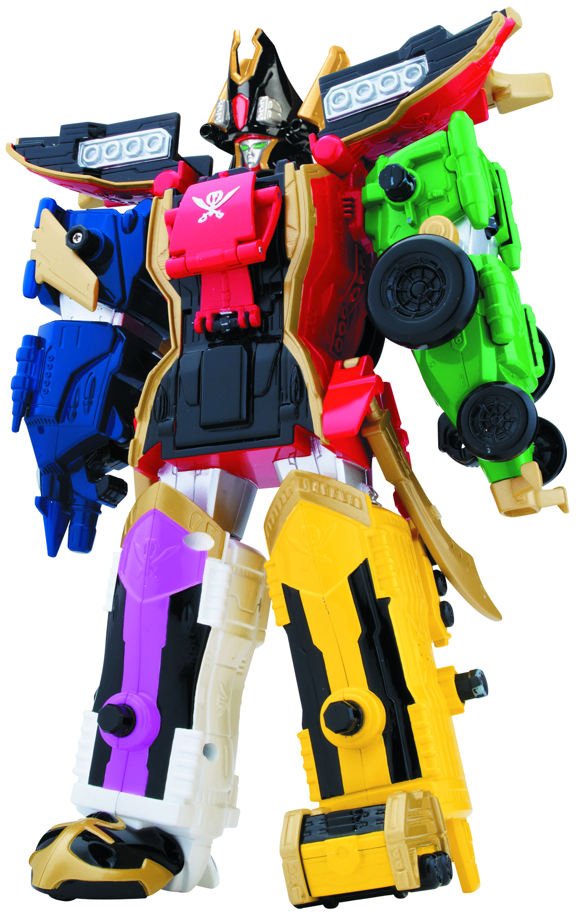 POWER RANGERS SUPER MEGAFORCE DLX MEGAZORD CS