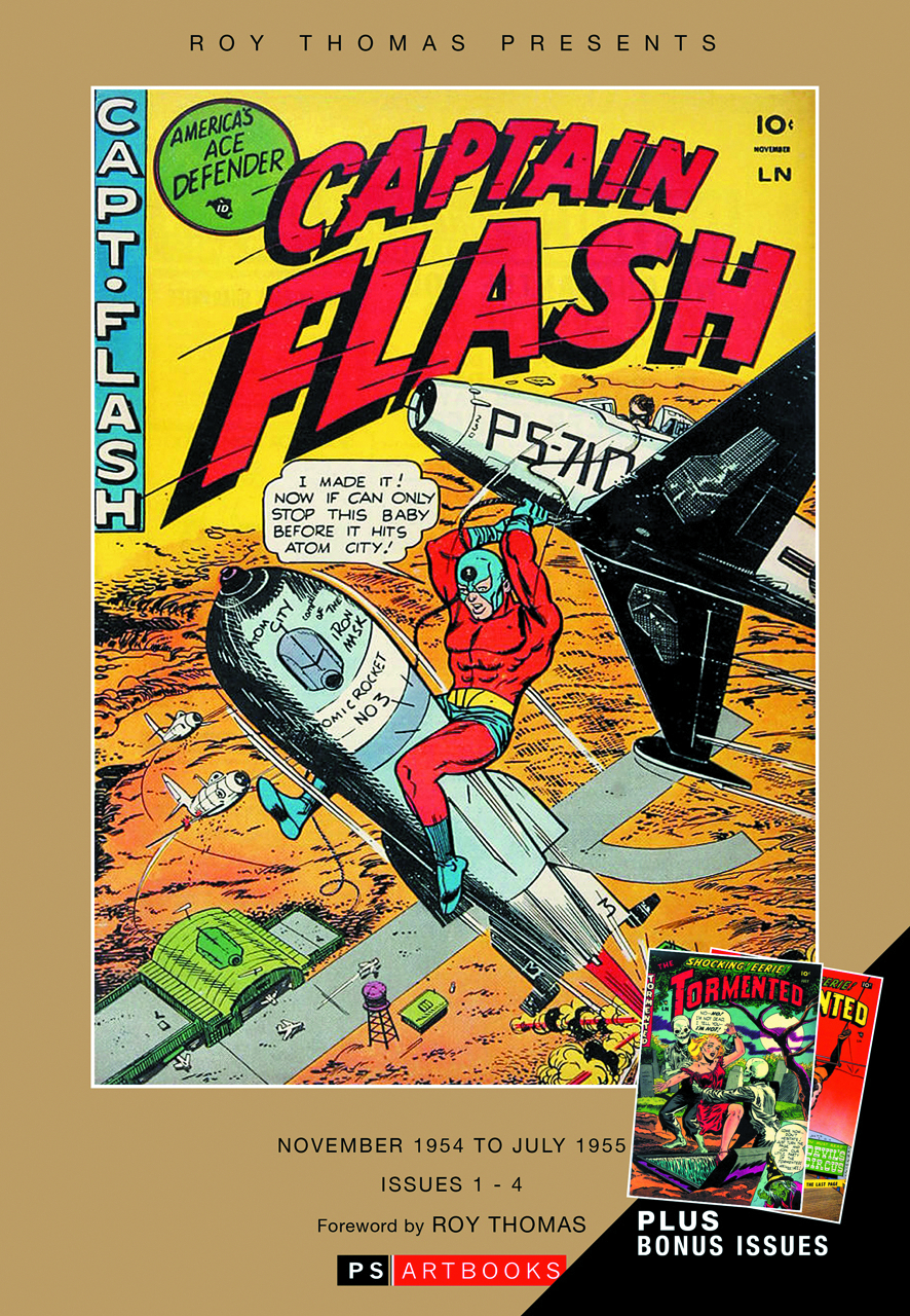 ROY THOMAS PRESENTS CAPTAIN FLASH W/ TORMENTED HC VOL 01