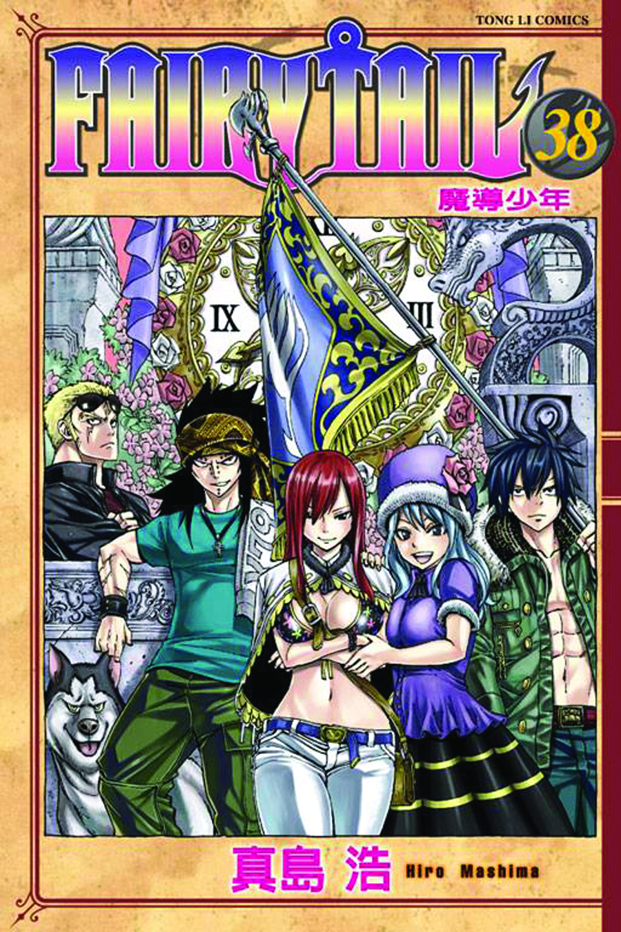 FAIRY TAIL GN VOL 38