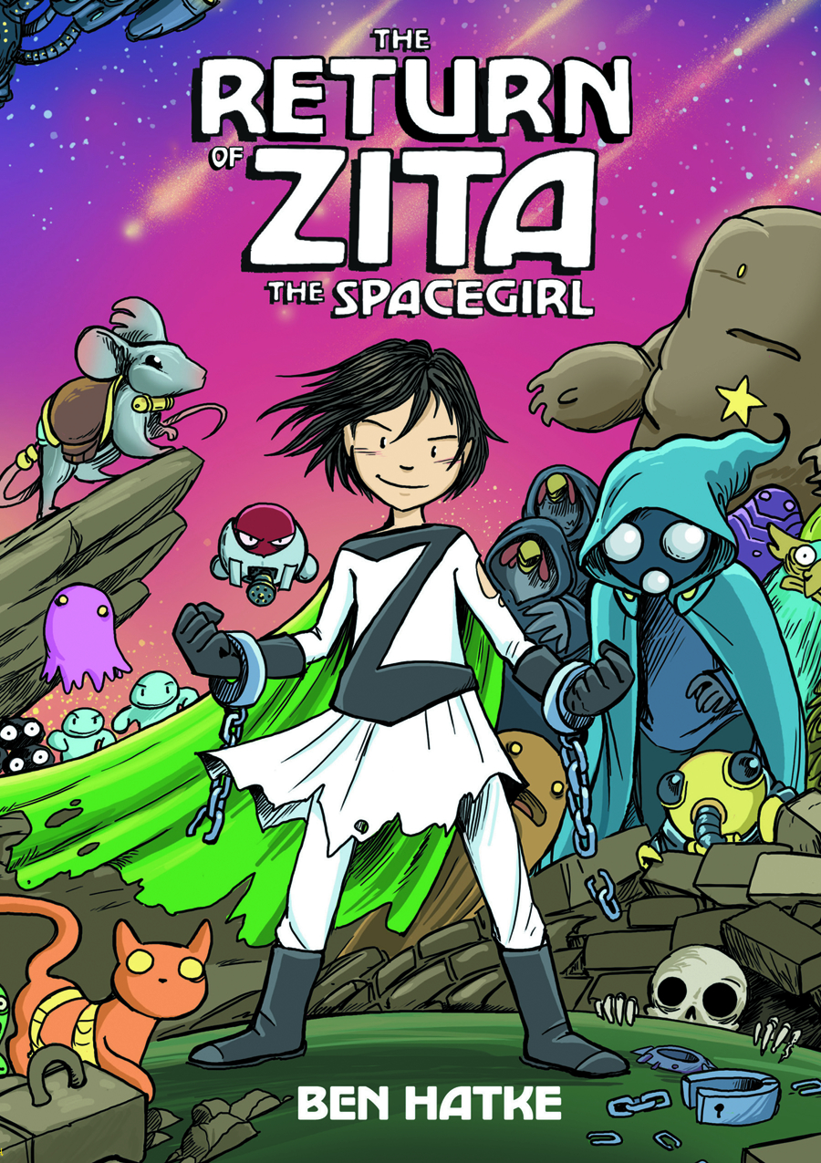 RETURN OF ZITA THE SPACEGIRL GN