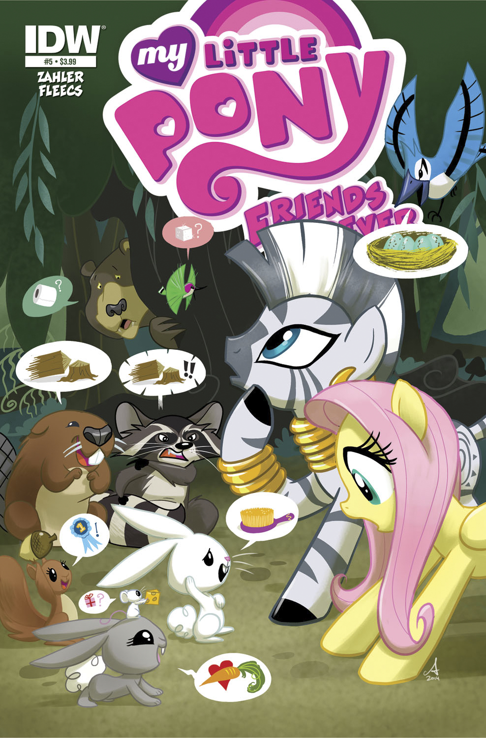 MY LITTLE PONY FRIENDS FOREVER #5 FREE 10 COPY INCV
