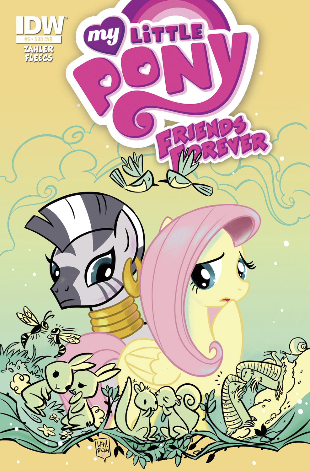 MY LITTLE PONY FRIENDS FOREVER #5 SUBSCRIPTION VAR