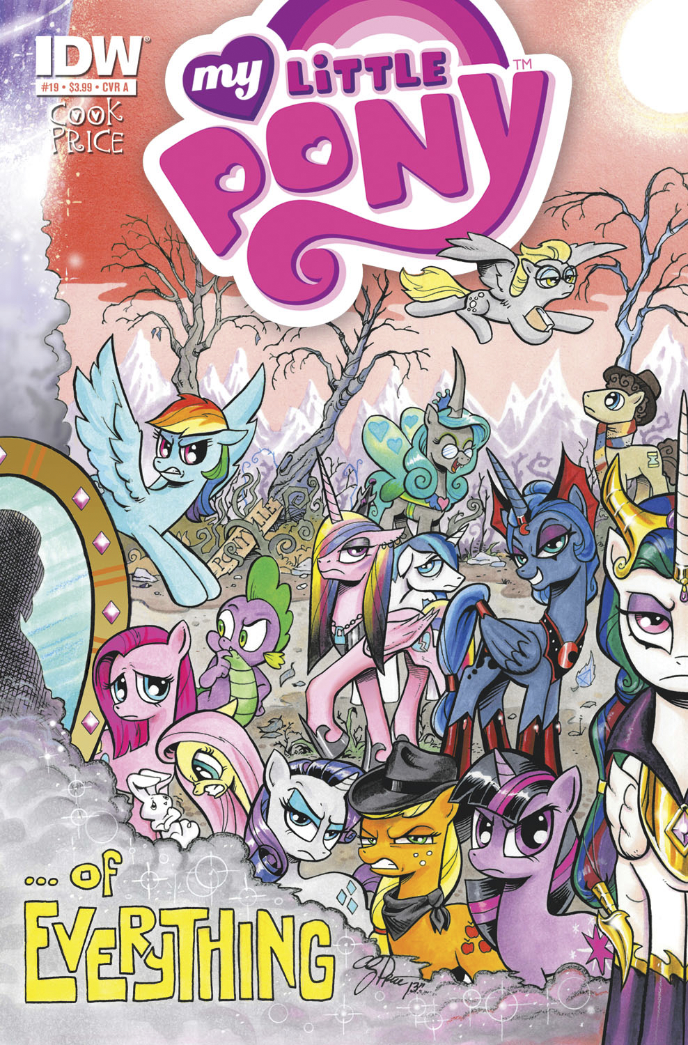 MY LITTLE PONY FRIENDSHIP IS MAGIC #19 FREE 10 COPY INCV