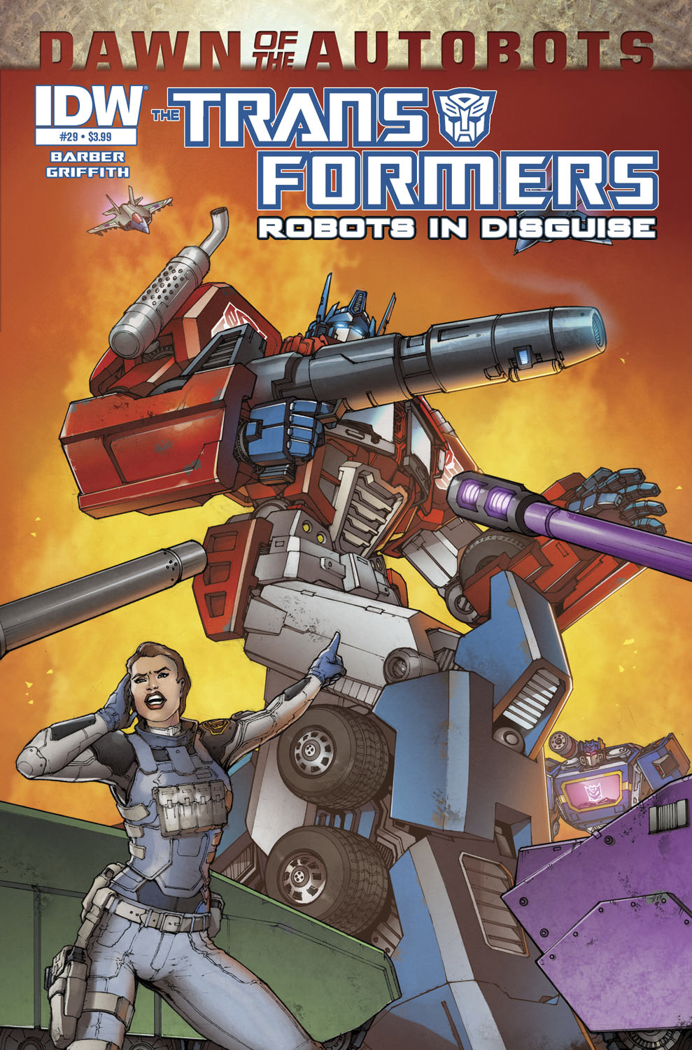 TRANSFORMERS ROBOTS IN DISGUISE #29 DAWN O/T AUTOBOTS