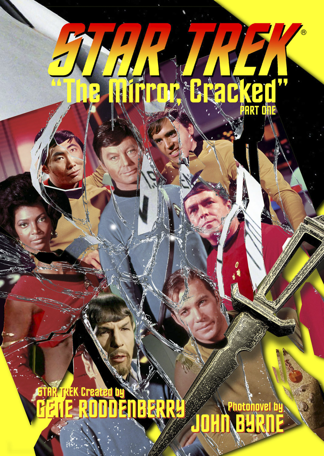 STAR TREK NEW VISIONS #1 MIRROR CRACKED