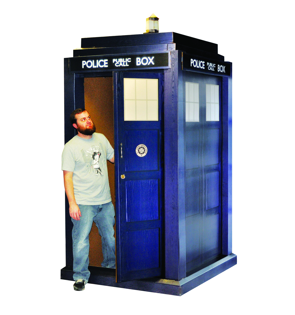 DOCTOR WHO 3D TARDIS LIFE-SIZE STANDUP