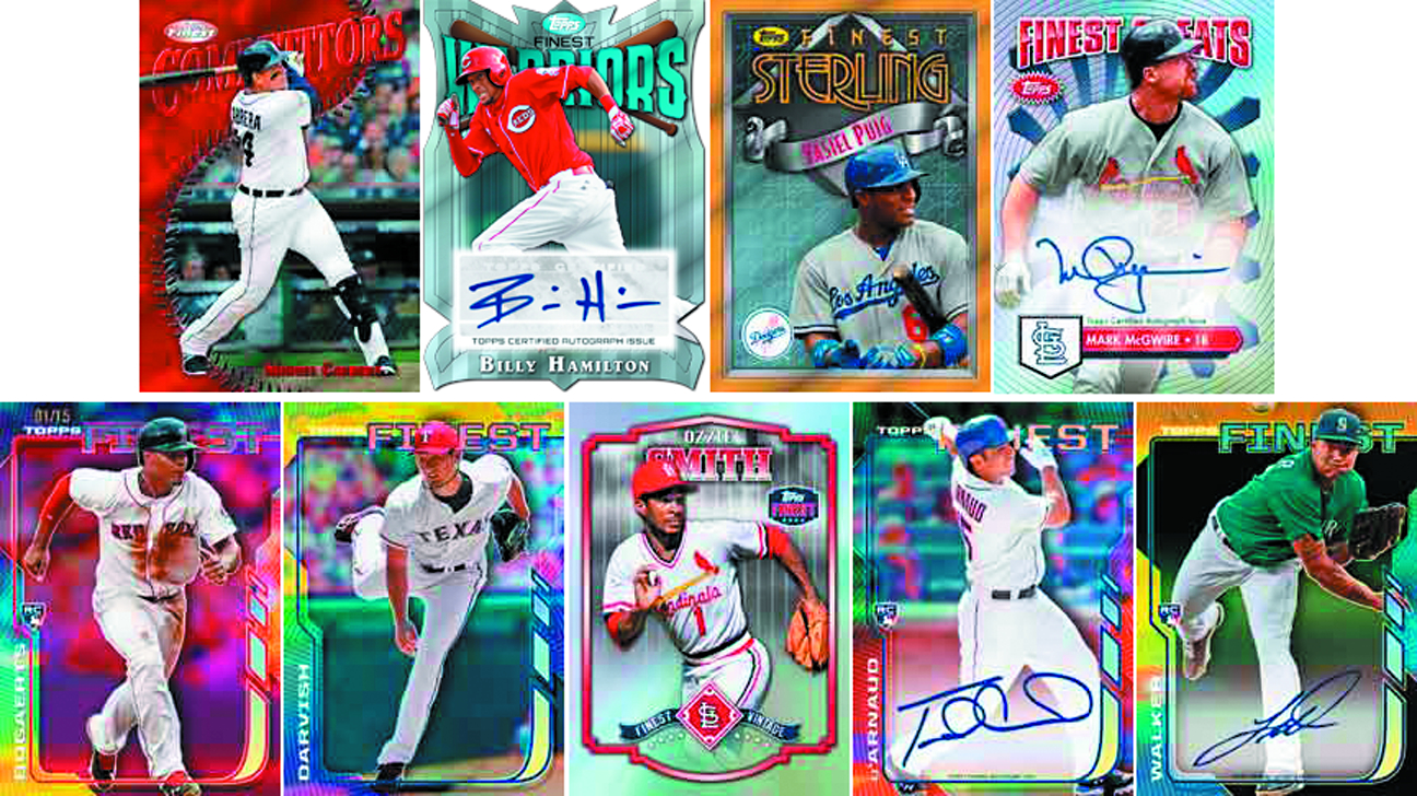 TOPPS 2014 FINEST BASEBALL T/C OUTER BOX