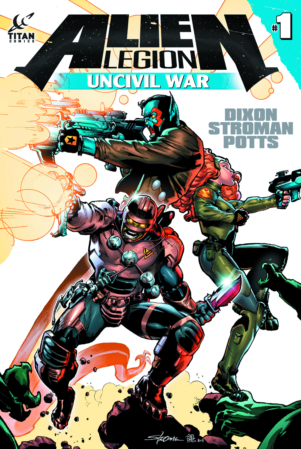 ALIEN LEGION UNCIVIL WAR #1