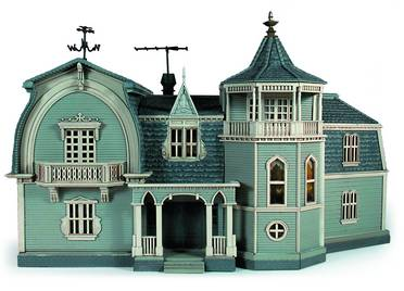 MUNSTERS HOUSE FINISHED MODEL KIT