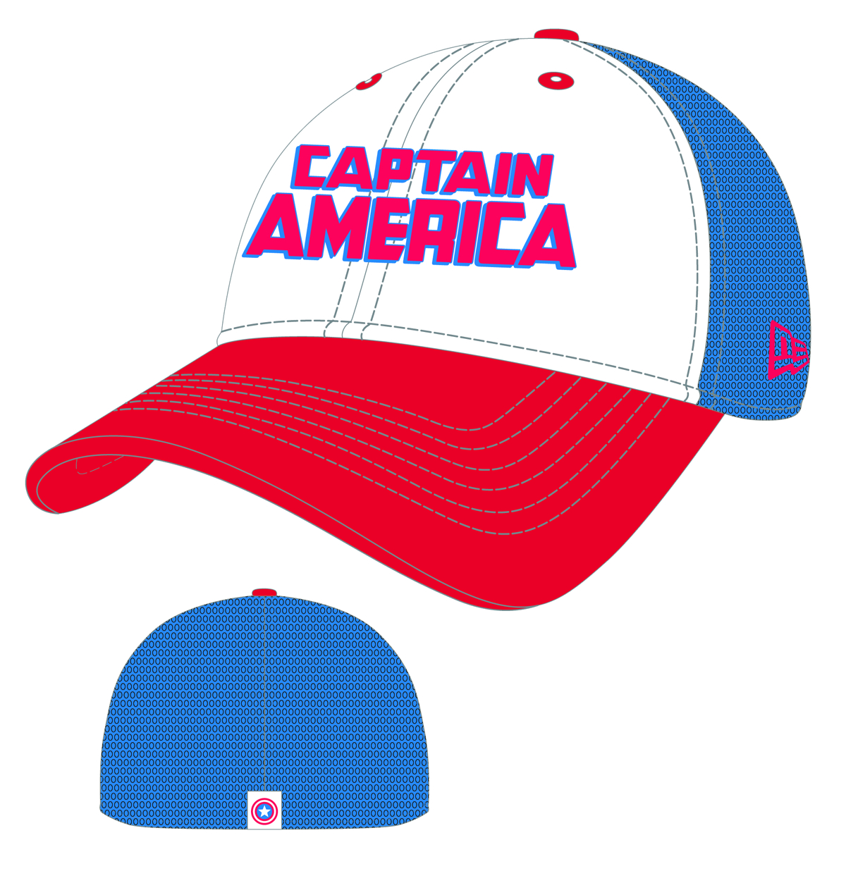 CAPTAIN AMERICA WORDMARK NEO CAP
