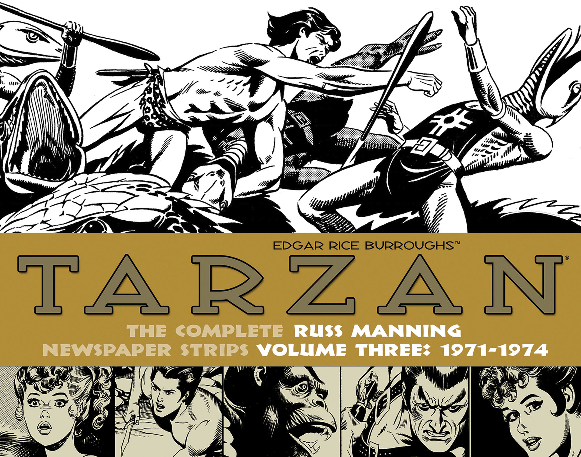 TARZAN RUSS MANNING NEWSPAPER STRIPS HC VOL 03 1971-1974