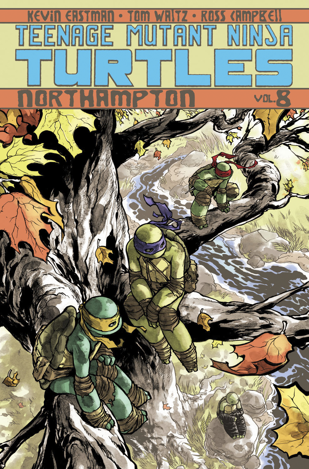 TMNT ONGOING TP VOL 08 NORTHAMPTON