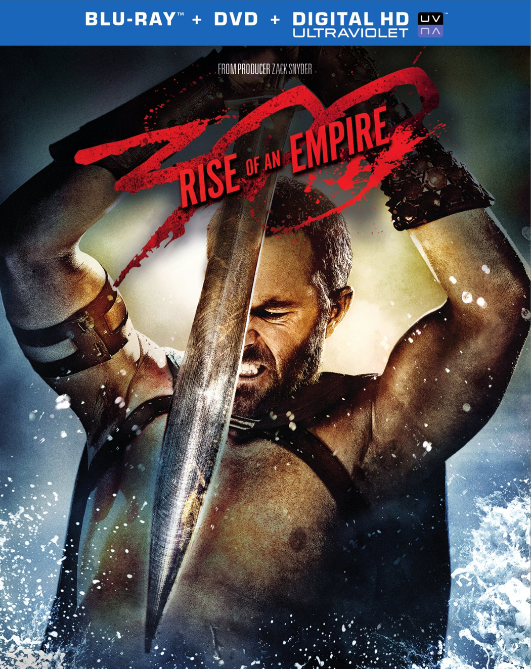 300 RISE OF AN EMPIRE BD + DVD