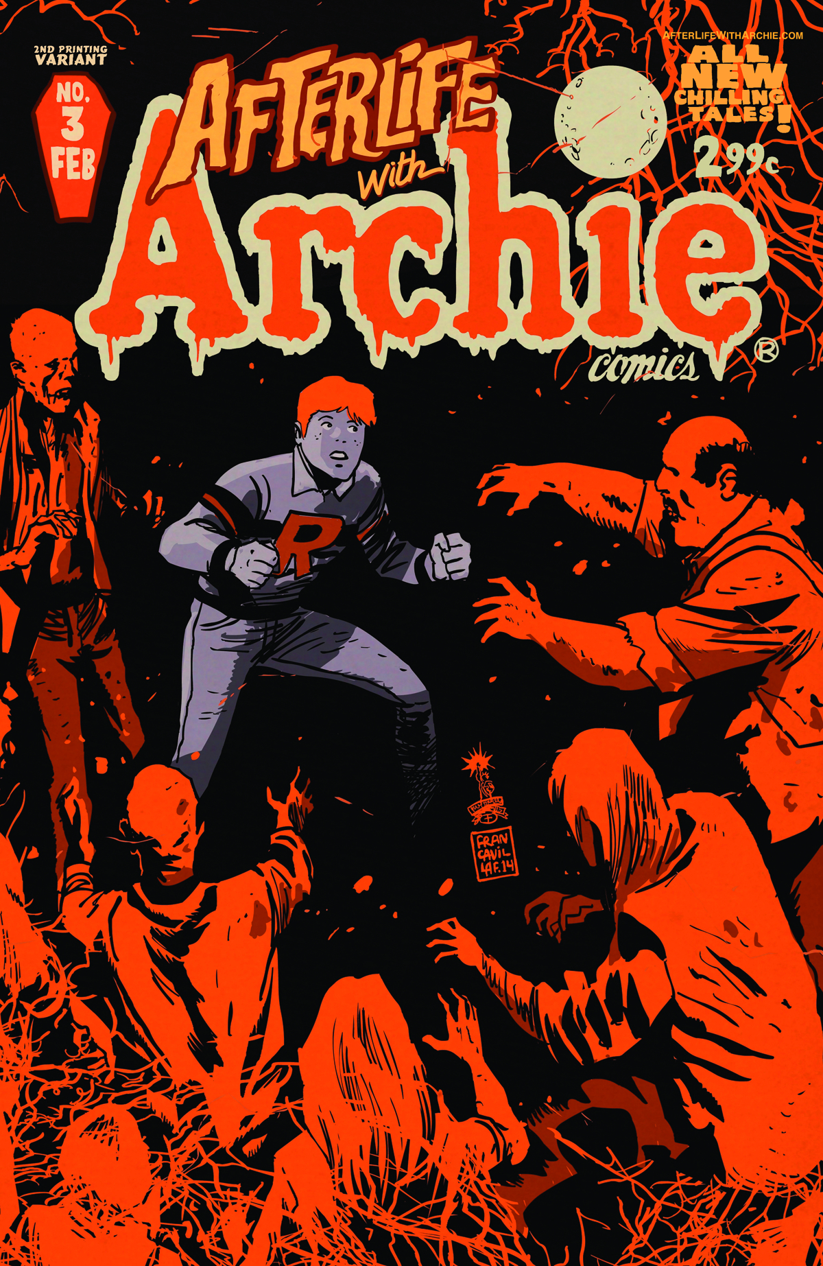 AFTERLIFE WITH ARCHIE #3 2ND PTG FRANCAVILLA CVR