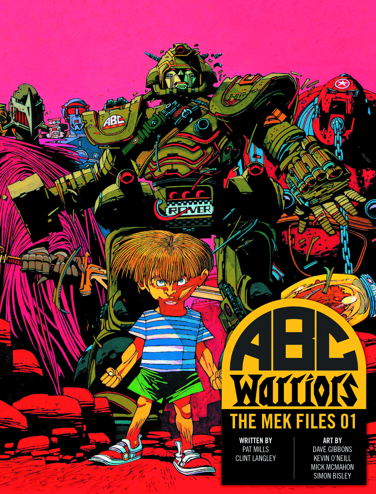 ABC WARRIORS MEK FILES HC VOL 01