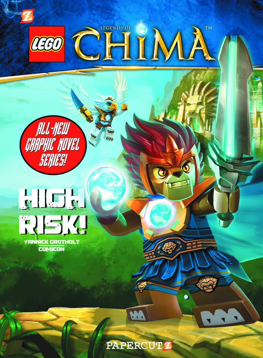 LEGO LEGENDS OF CHIMA HC VOL 01 HIGH RISK