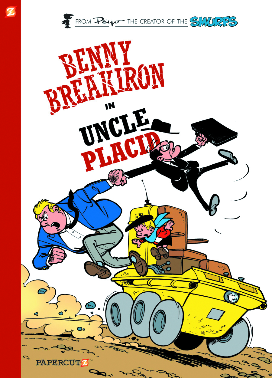 BENNY BREAKIRON HC VOL 04 UNCLE PLACID