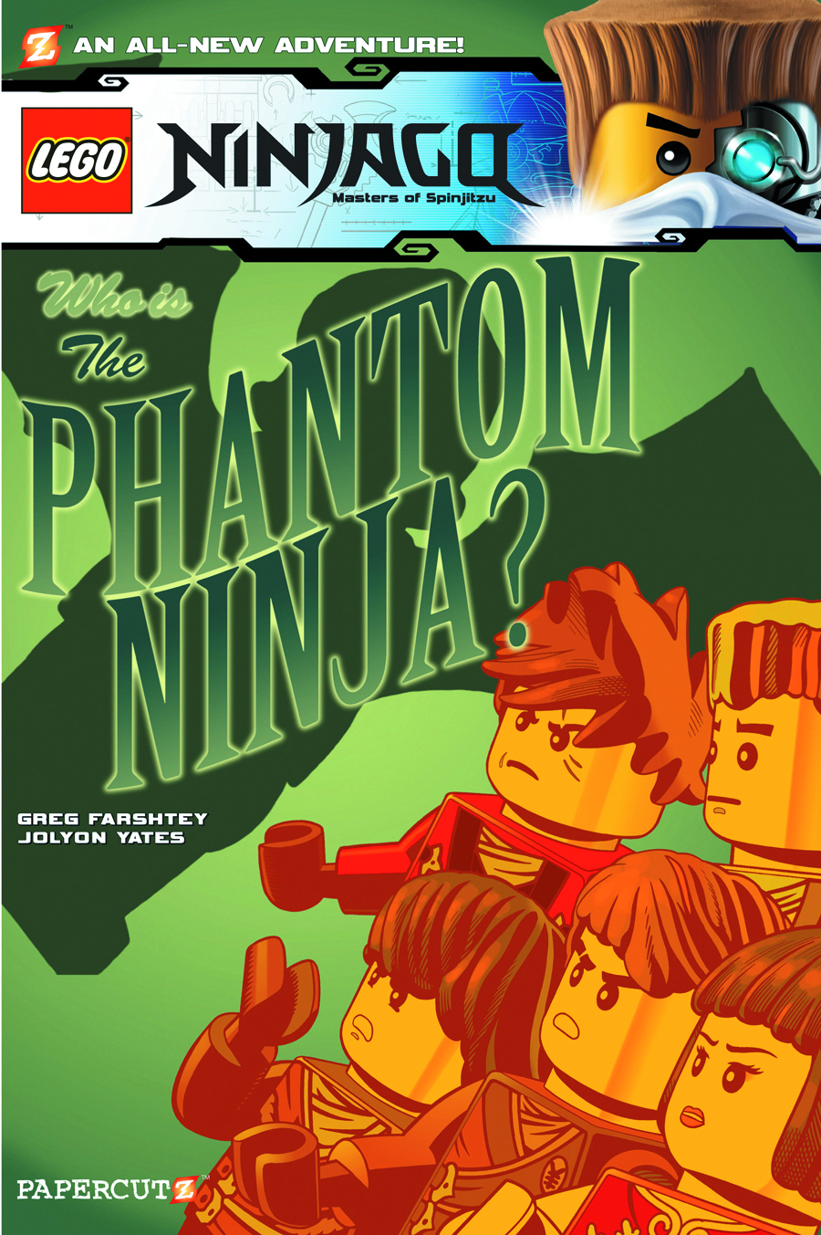 NINJAGO HC VOL 10 PHANTOM NINJA
