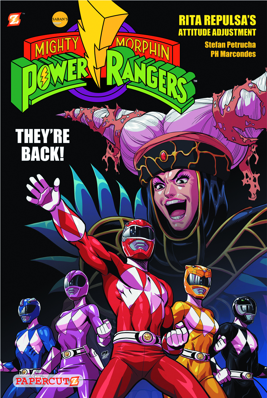 MIGHTY MORPHIN POWER RANGERS HC VOL 01 RITA REPULSA