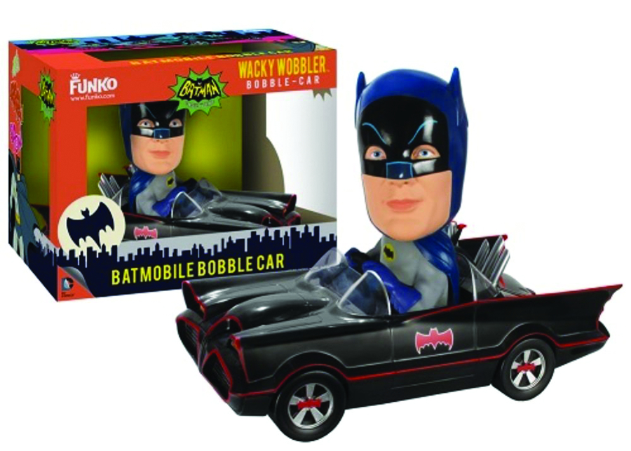 BATMAN 1966 BATMOBILE WACKY WOBBLER
