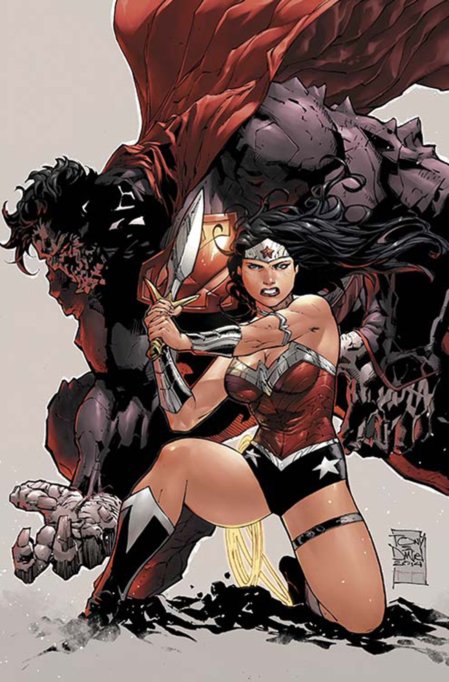 SUPERMAN WONDER WOMAN #8 COMBO PACK