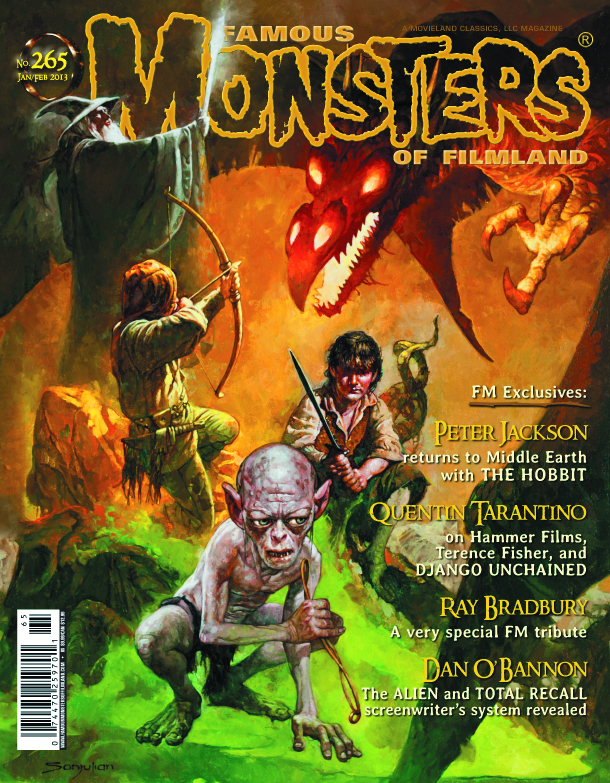 FAMOUS MONSTERS OF FILMLAND #265 HOBBIT CVR