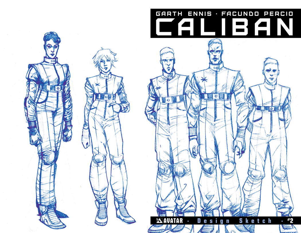 CALIBAN #2 DESIGN SKETCH ORDER INCV