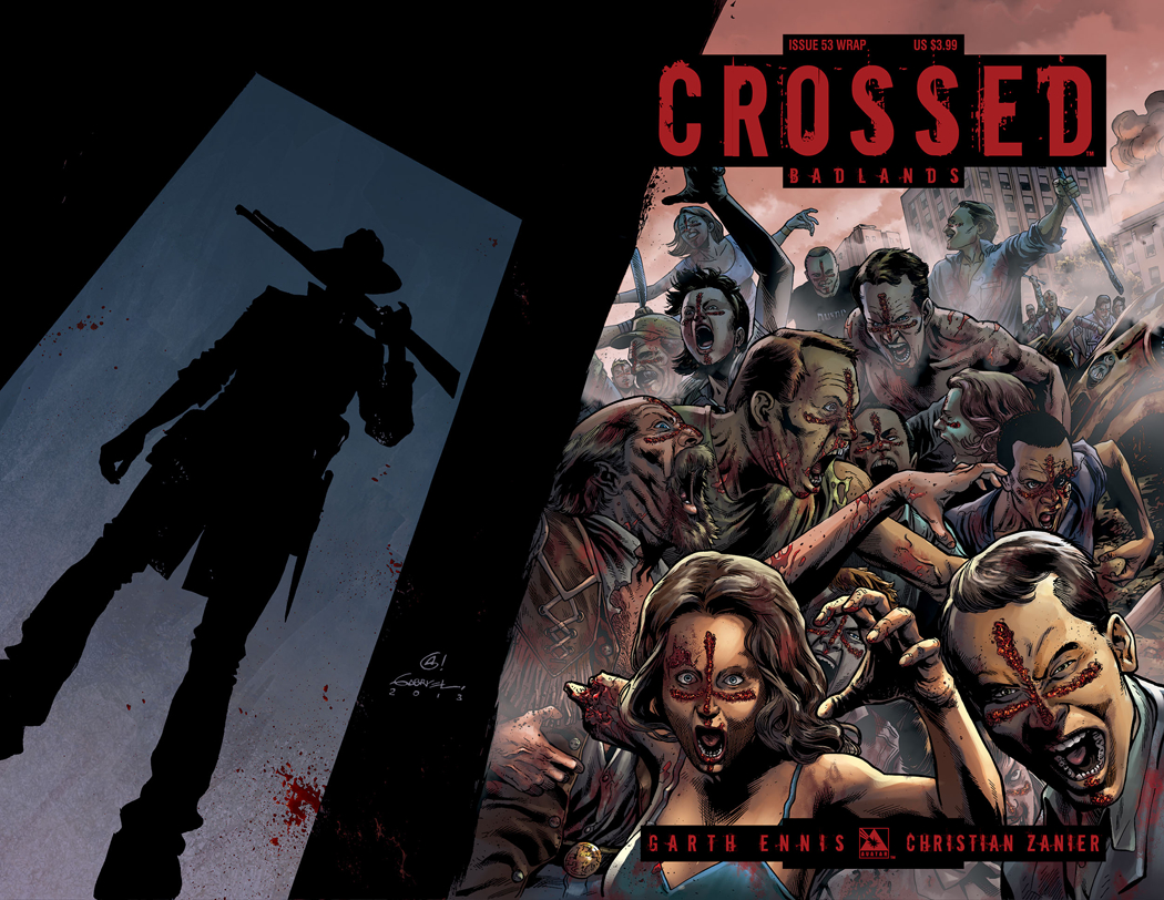 CROSSED BADLANDS #53 WRAP CVR
