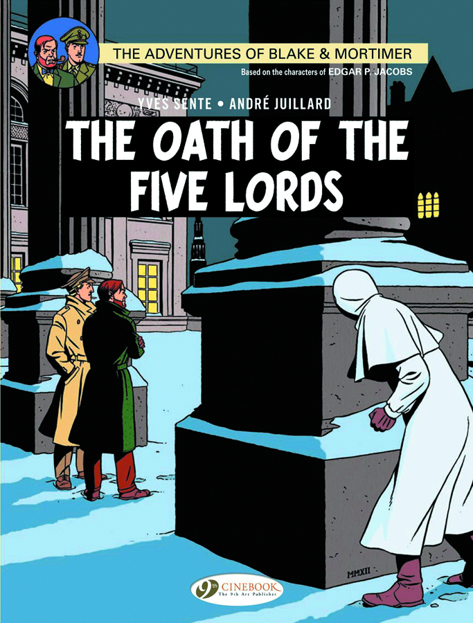 BLAKE & MORTIMER GN VOL 18 OATH FIVE LORDS