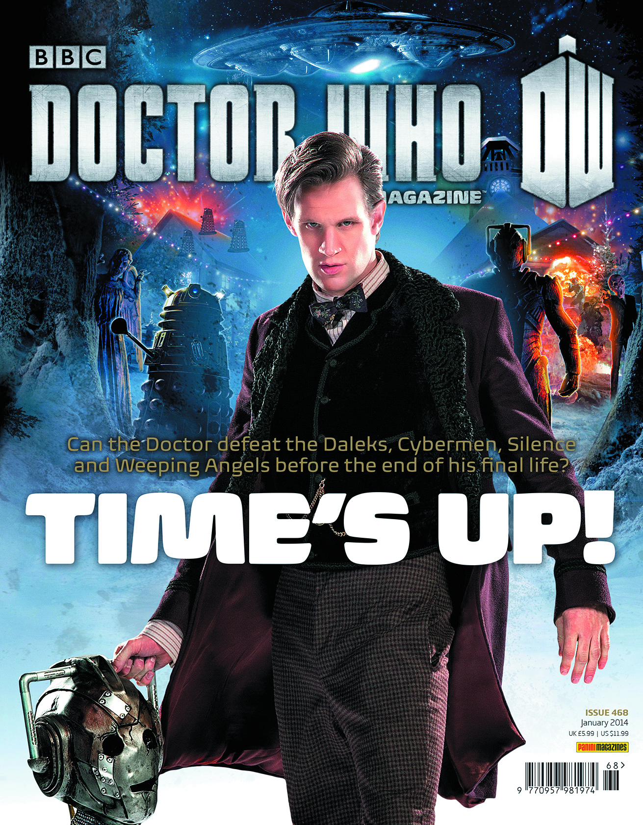 DOCTOR WHO MAGAZINE #473