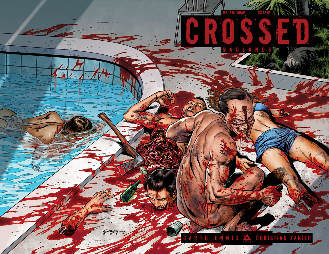 CROSSED BADLANDS #54 WRAP CVR