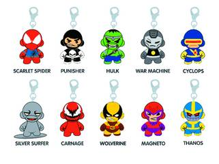 MARVEL MUNNY ZIPPER PULL 20PC BMB DS SER 02