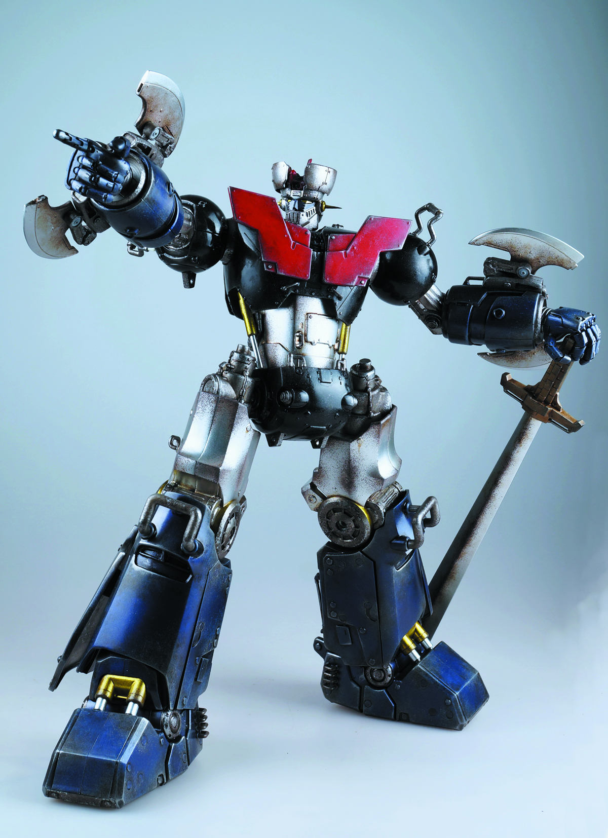 MAZINGER Z SCALE FIG