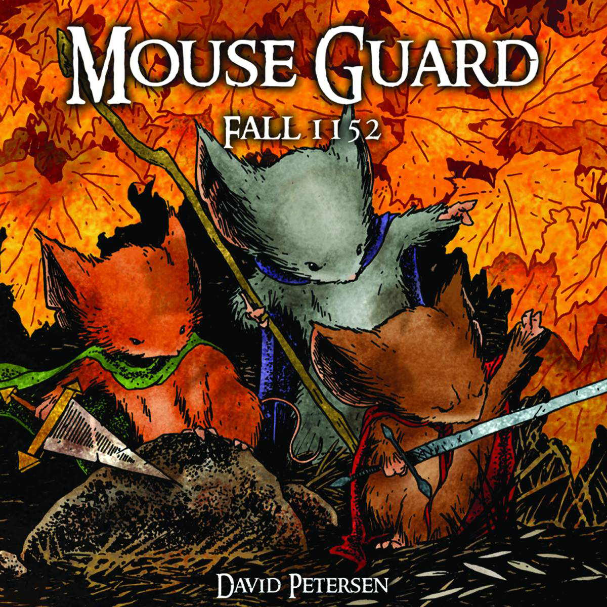 MOUSE GUARD HC VOL 01 FALL 1152 DUST JACKET ED