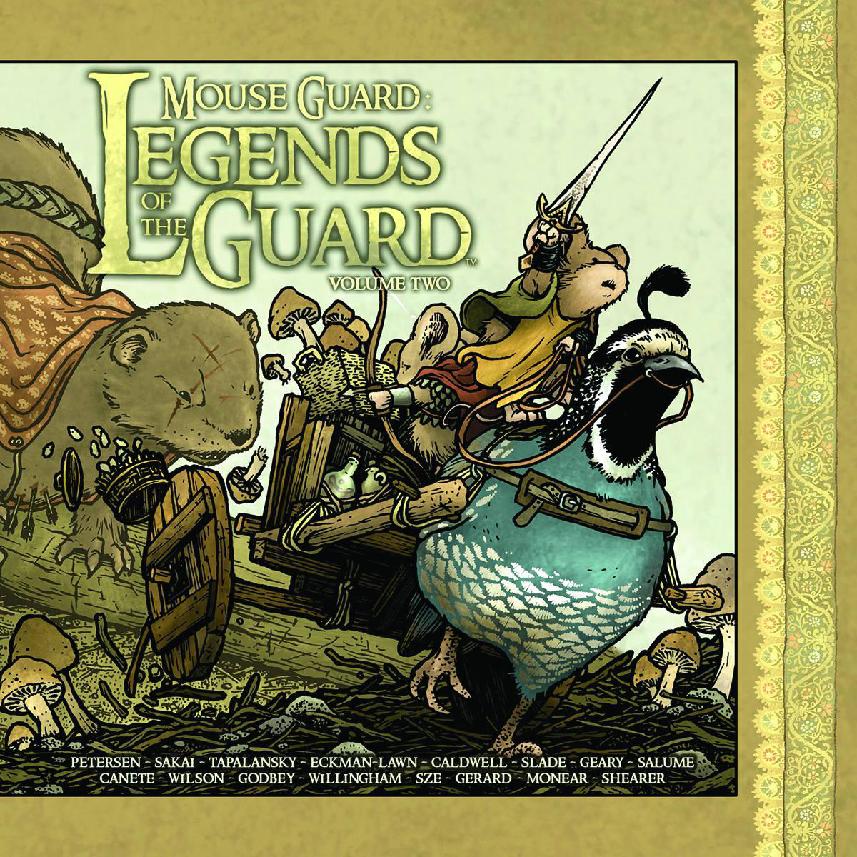 MOUSE GUARD LEGENDS OF GUARD HC VOL 02