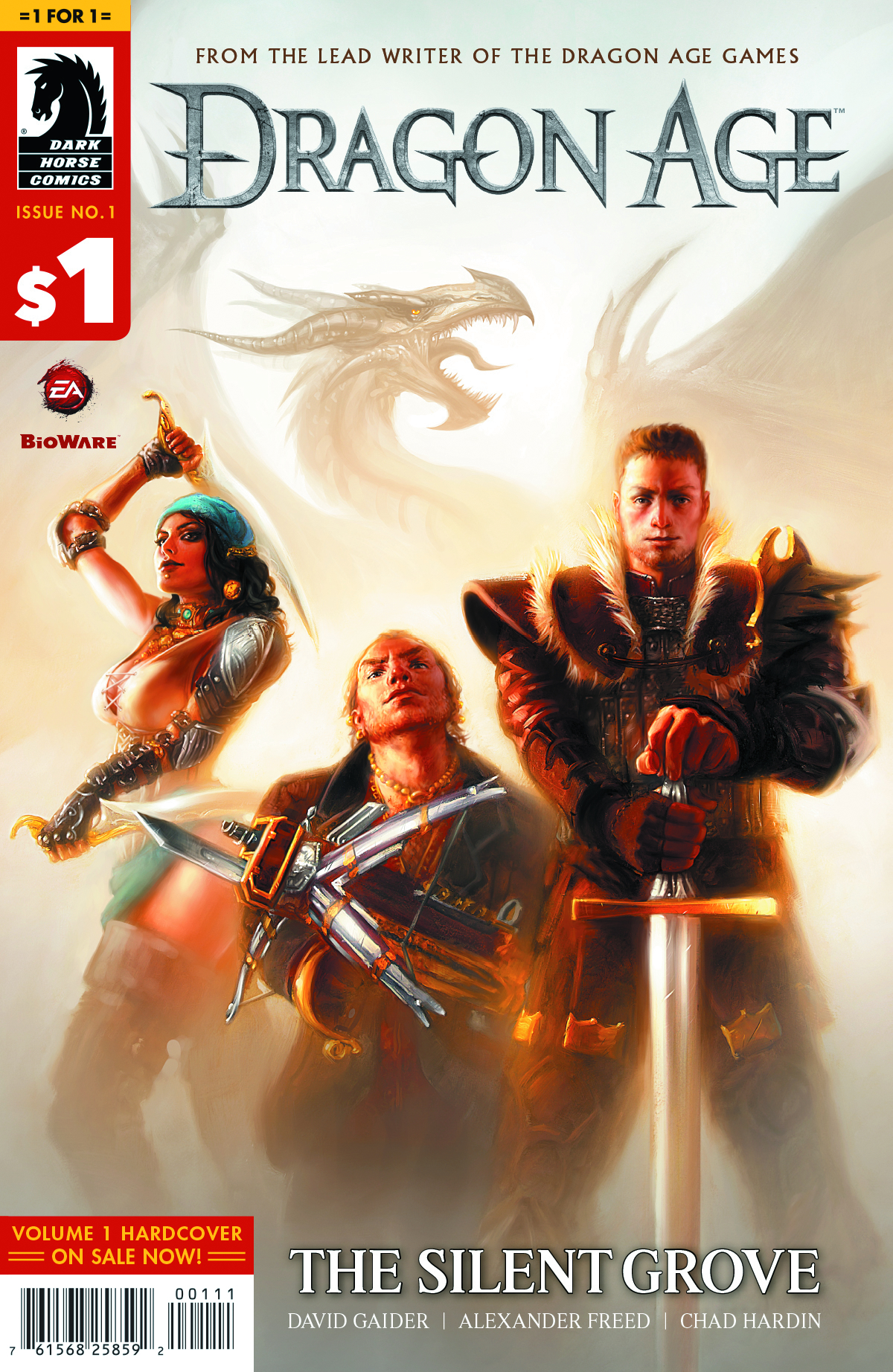 1 FOR $1 DRAGON AGE SILENT GROVE #1
