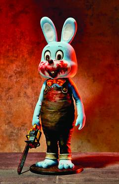 SILENT HILL 3 ROBBIE THE RABBIT PVC FIG BLUE VER