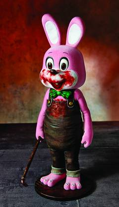SILENT HILL 3 ROBBIE THE RABBIT PVC FIG PINK VER