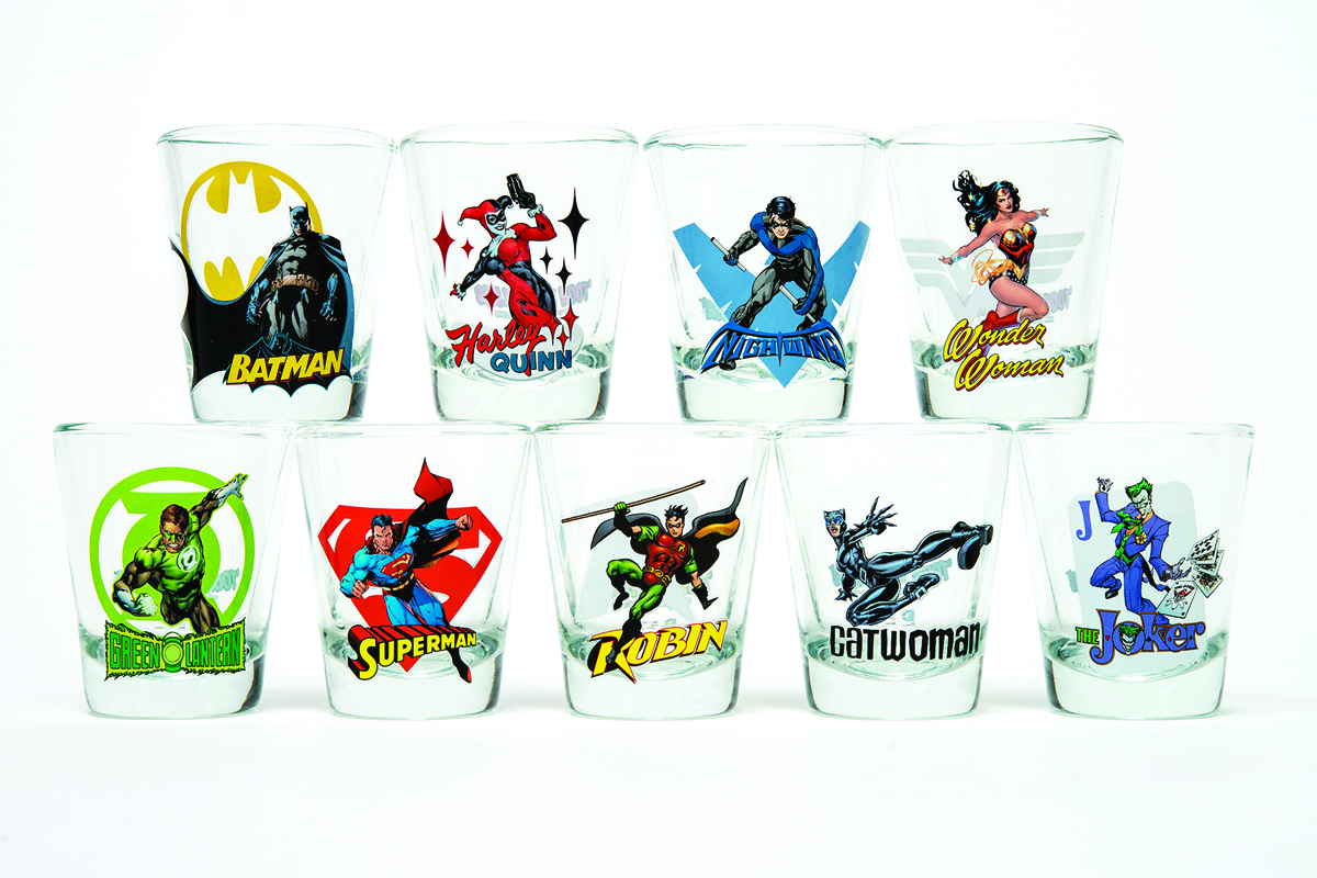 TOON TUMBLERS SUPERMAN MINI GLASS